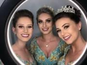 2019 Rainha Tainá Ensslin Princesas: Julia Rubert e Letícia Folmer