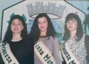 Rainha Aline Röhrs Princesas: Tanara Degasperi e Lenara Lopes