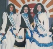 Rainha: Tatiane Segatto Princesas: Schirlei Ruoso e Ionara Spengler