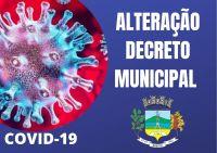 Segredo emite  novo decreto Municipal