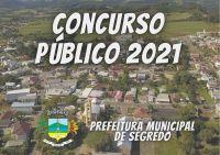 PREFEITURA DE SEGREDO REALIZA CONCURSO PÚBLICO -2021